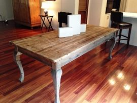 Scottish barn table. Your rustic feast table