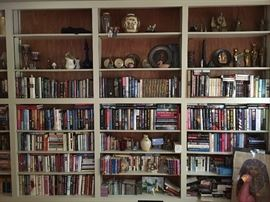 Some of the many many books!
