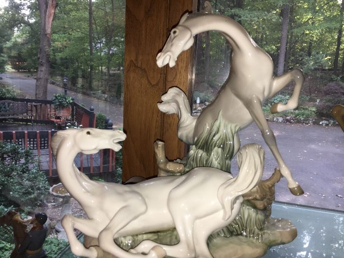 "Lladro 1021 ""Playful Horses"""
