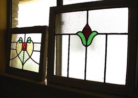 Leaded glass