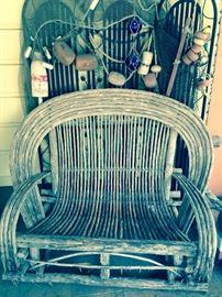 Bent Willow Love Seat