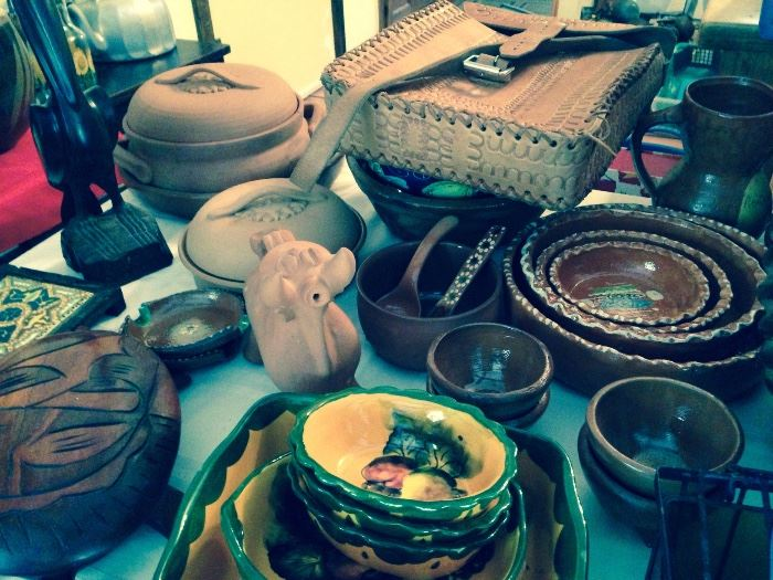mexican pottery and more