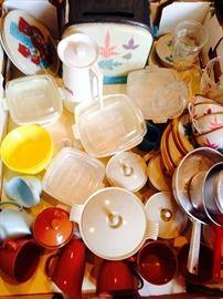 vintage child's dishes