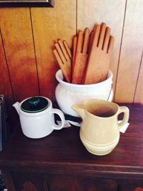 antique wooden glove molds