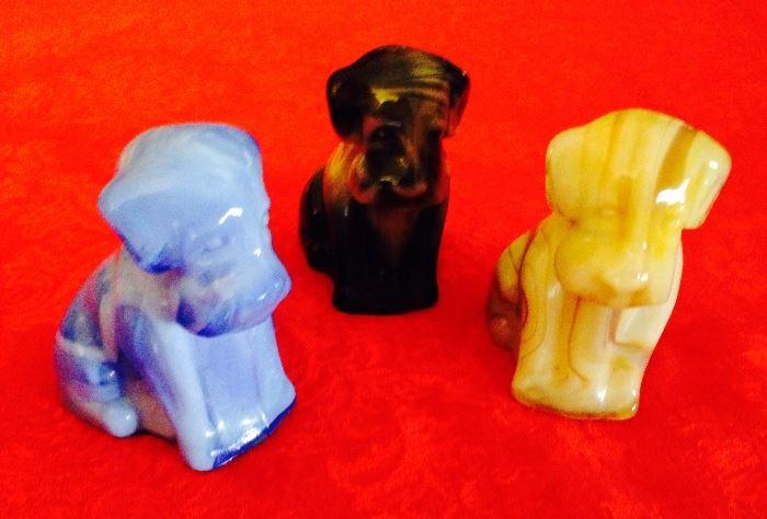 slag glass Boyd dogs, awesome