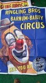 Ringling Bros. circus poster