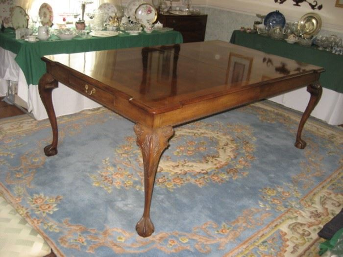 Chippendale Style Dining Table for Rittenhouse Square Dining Room
