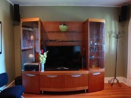 Large Classy Entertainment Center / Display Cabinet / Media Center