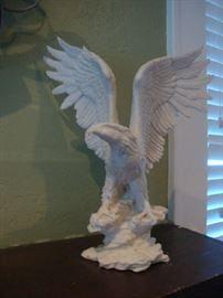 White eagle Statue