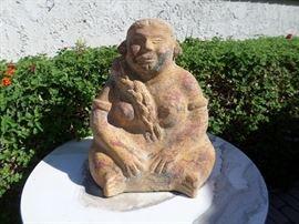 Mexican clay decor