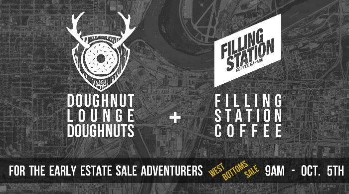 Our friends over at Doughnut Lounge & The Filling Station our helping us out this week with some amazing coffee & doughnuts for our Wednesday Oct. 5th sale opening. We'll have these set out around 8:30am for the early arrivers to enjoy while waiting for the doors to open at 9am.