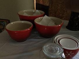 LeCreuset Bowls