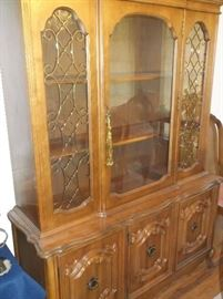 French style china cabinet