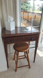 Small table with drawer - $45  SOLD