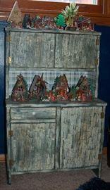 Antique Childs Toy Dresser