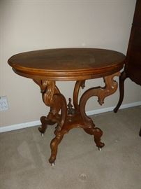 Beautiful antique parlor table