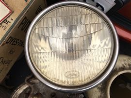 Ford motor car headlight