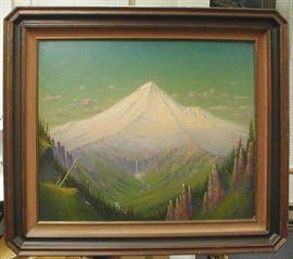 James Everett Stuart (1852-1941, California Artist) Landscape