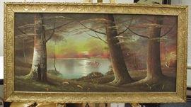 Harry Leonard Lopp (1888-1974, American) Landscape