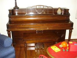 Sohmer piano and bench- available for early sale