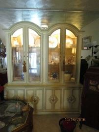 Beautiful Lighted Cabinet