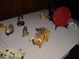 Bone, ivory and other