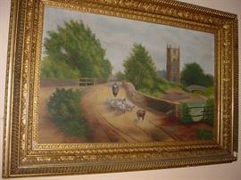 another of the dozens of original art treasures