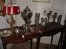 Some of the LARGE quantity of sterling silver items