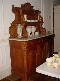 Just one of SO MANY quality antiques throughout this fabulous home
