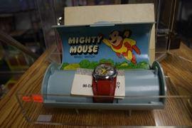Mighty Mouse Bradley Wrist Watch By Bradley