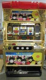 Beatles Slot Yellow Submarine Slot Machine and Tokens