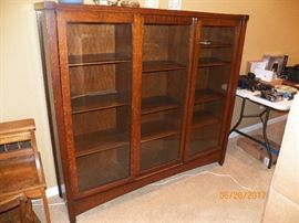 ANTIQUE LIFE TIME DISPLAY CABINET