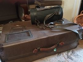 WWII Locker and container