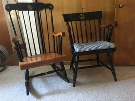 Early American Rocker and Chair