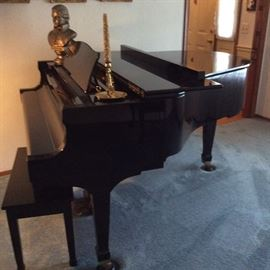 WEBER BABY GRAND PIANO IN MINT CONDITION