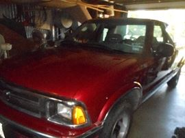 ONE OWNER 1994 Chevy S10 Ext. Cab 51K original miles..Super clean & garaged!!!!$4895.00