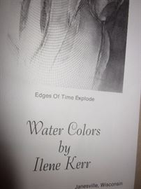 Water Colors by Ilene Kerr