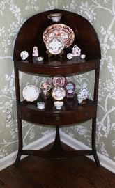 antique corner stand