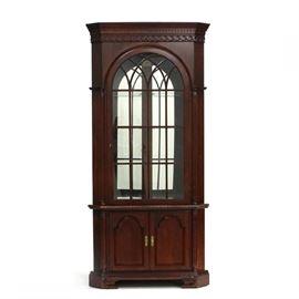 Craftique corner cabinet