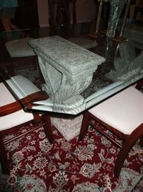 PEDESTAL TO TABLE
