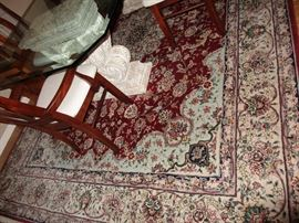 RUG wool rug just clean