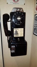 Repro Wall Pay Phone