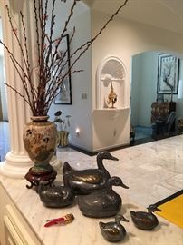 This beautiful home is filled with fine art, decorative art and collectibles from around the world!
