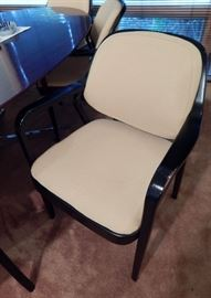 Knoll International Oval Table Chairs