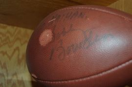 Bobby Bowden signed football with Blemish