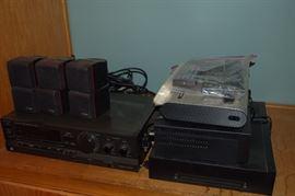 Stereo, VCR, Playstation 2
