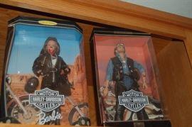 Harley Barbie and Ken
