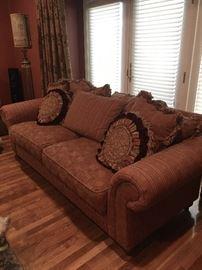Living room sofa & furnishings