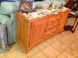 Solid Wood Cabinet $ 180.00
