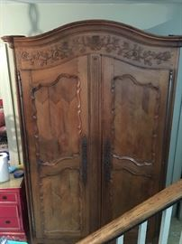 Antique armoire 7ft tall - gorgeous!